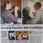 Enköpings-Posten 8/6 2013.