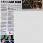 Arboga Tidning 30/5 2011.