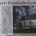Enköpings-Posten 14 september 2012.